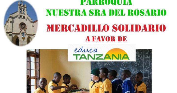 Mercadillo solidario mayo 2019